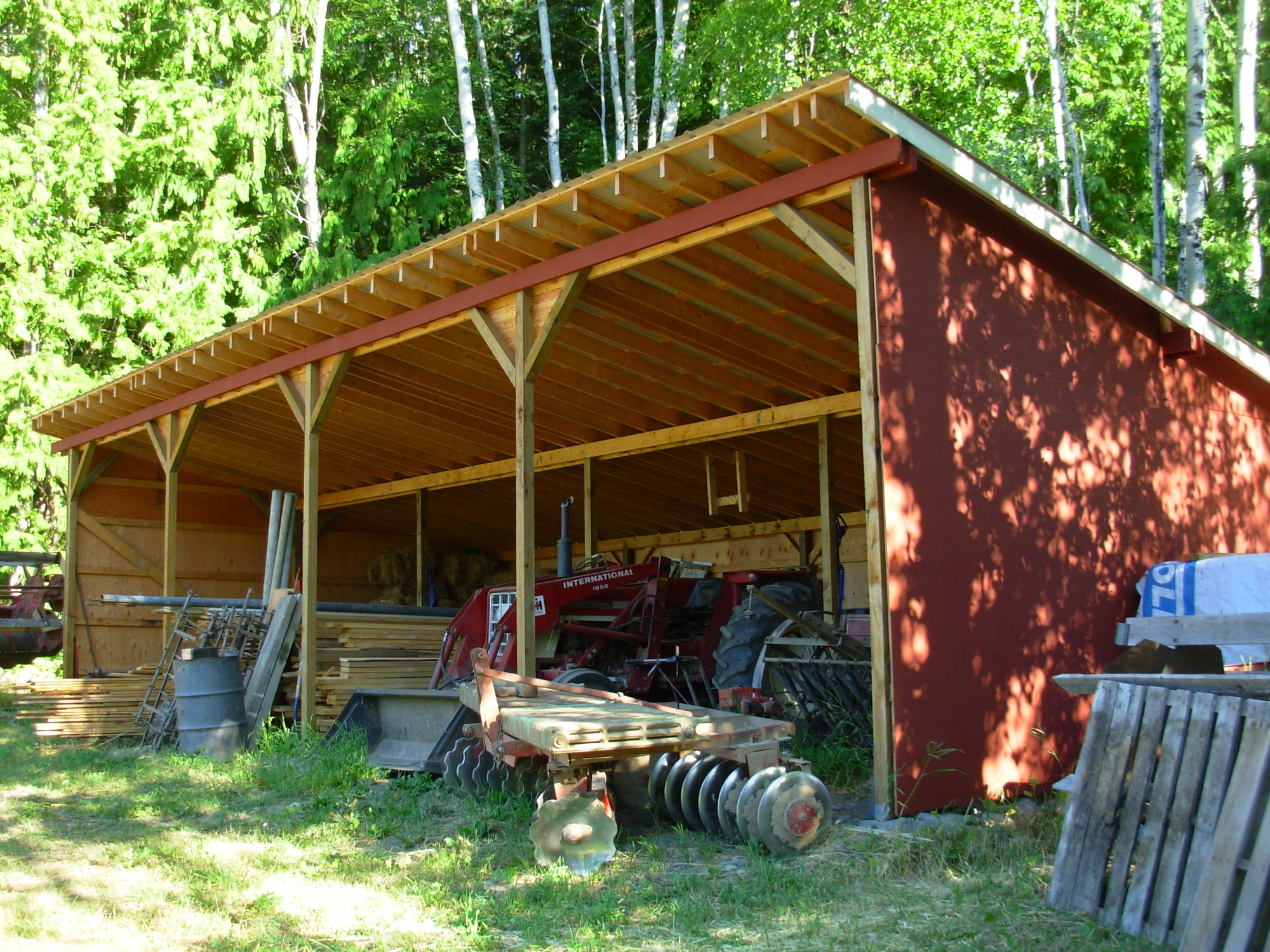 July farm report commatology for Farm barn plans