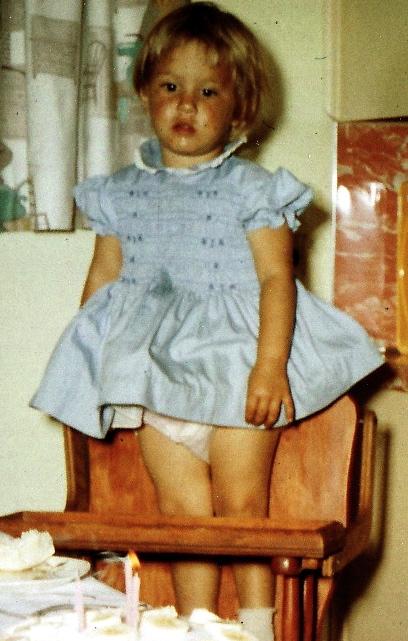 Jody's 3rd birthday, 1960