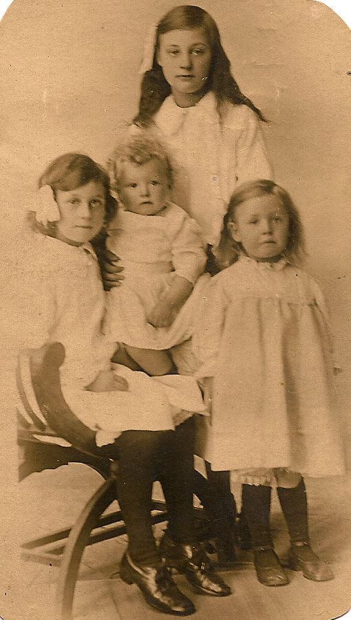 Burgess sisters, 1916: Betsy, Annie, Hannah, and Lilian