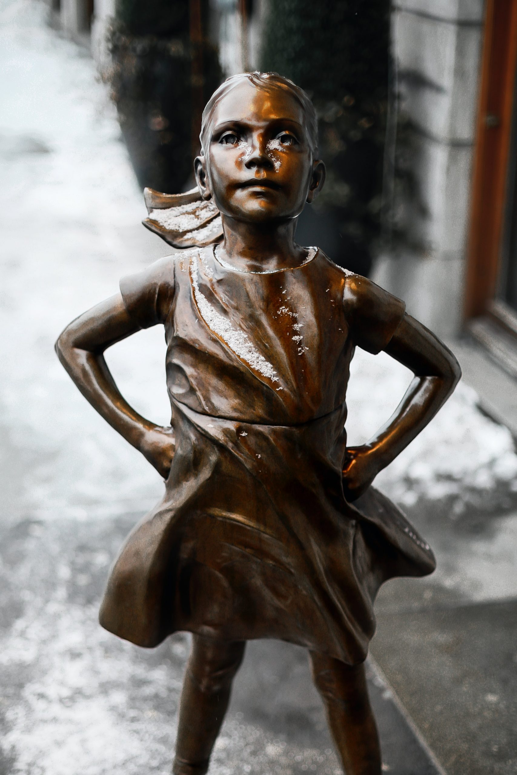 Fearless Girl statue: I don't want your love